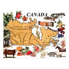 canada postcards zazzle