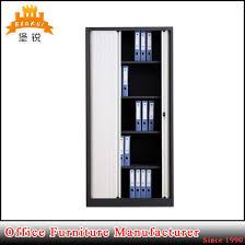 Roller Door Cabinets China Plastic Steel Tambour Roller Shutter Door Filing Cabinet