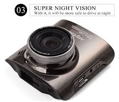 anytek a3 car camera dvr video recorder super night vision dash