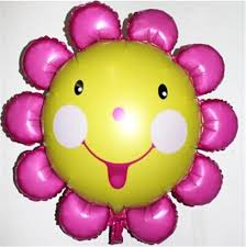 cheap helium balloons delivered sunflower balloon for wedding decoration helium ballon s