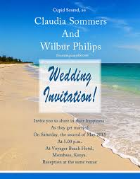 Beach Wedding Invitations Beach Wedding Invitation Wording Samples Wordings And Messages
