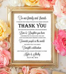 wedding table sign wecome thank you signs our family