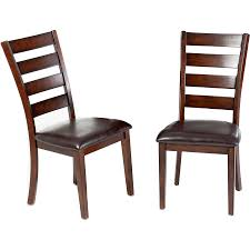 Kitchen Chairs by Mainstays Windsor Dining Chairs Set Of 2 Natural Finish Walmart Com