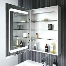Lighted Bathroom Mirror Cabinets Lighted Mirror Cabinet Istanbulklimaservisleri Club