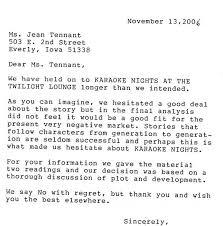 letter literary agent