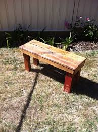 Simple Outdoor Bench Seat Plans by Diy Pallet Bench 9 Steps