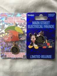 parade pins disneyland electrical parade pins 2017 mickey mouse