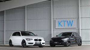 Bmw 116i Ktw Tuning Visually Tweaks Bmw 116i Black And White Duo