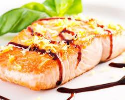 cuisiner le saumon recette pavés de saumon au vinaigre balsamique