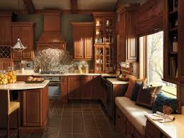 mdf raised door walnut kitchen cabinets at menards backsplash