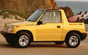 chevy tracker 1990 geo tracker mini jeep 3 forgotten marques part v geo