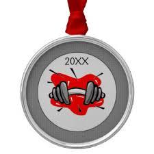weightlifting ornaments zazzle ca