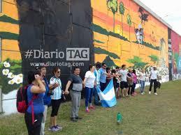 El Mural by Vecinos Fueron A Pintar El Mural Pero Ya Estaba Pintado Diario Tag