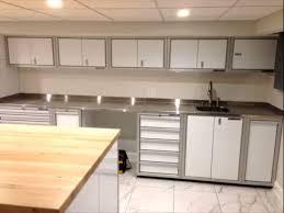 Stainless Steel Countertops Proii Stainless Steel Garage Countertops Moduline