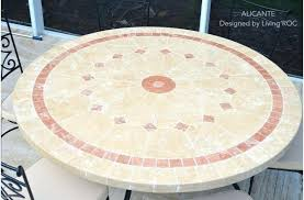 Mosaic Patio Furniture by Home Design Surprising Stone Table Top Patio Furniture Home