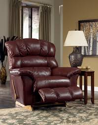 la z boy crandell bordeaux leather recliner mathis brothers