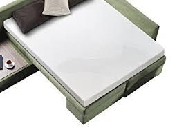 Amazoncom Zinus Sleep Master Cool Gel Memory Foam  Inch Sleeper - Sleeper sofa mattresses replacement