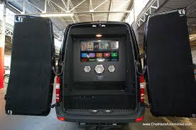 Conversion Van With Bathroom Mercedes Benz Sprinter Van Tailgating Conversions