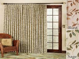 Curtains For Sliding Patio Doors Chic Sliding Door Curtains Patio Design Ideas Decors Sliding
