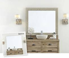Frame A Bathroom Mirror With Molding by Mirror Frames For Mirrors Mirrormate Frames