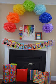 Rainbow Party Decorations Best 25 Art Party Decorations Ideas On Pinterest Kids Art Party