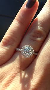 circle wedding rings best 25 halo engagement rings ideas on halo