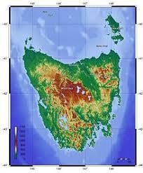 map of tasmania australia tasmania