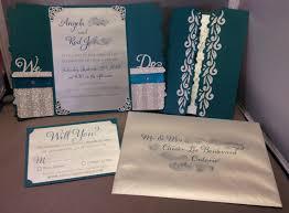 diy wedding invitation share your silhouette cameo crafts here weddingbee