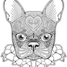 dog mandala coloring pages kids drawing coloring pages