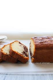 my little expat kitchen vanilla and homemade nutella pound cake