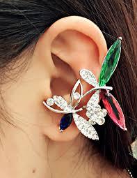 top design jewelry butterfly fashion 2015 stud earring