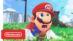 super mario odyssey game trailer nintendo e3 2017