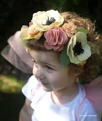 felt flower headband fairy felt flower headband lia griffith