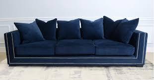 navy blue velvet sofa top 8 navy blue velvet sofas for glamorous home cute furniture