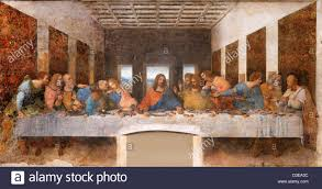 the last supper leonardo da vinci 15th century mural painting in leonardo da vinci the last supper 1494 98 milan convent of santa maria