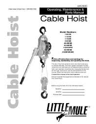 pittsburgh hoist wiring diagram wiring diagrams