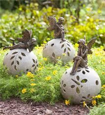 solar globe lights garden fairy solar globe garden light decorative garden accents