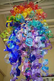 make recyled water bottle garden art water bottles summer