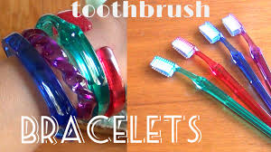 diy fashion toothbrush bracelets youtube