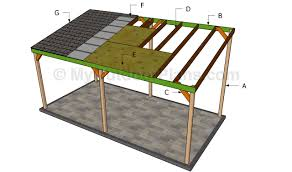 Attached Carport Pictures Wooden Carport Plans Myoutdoorplans Free Woodworking Plans And