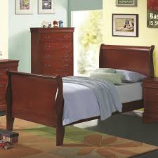 louis philippe sleigh bedroom set deep cappuccino coaster broyhill