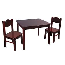 gift mark square table and chair set hayneedle