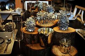 Christmas Table Decoration Ideas Silver by Glamorous Christmas Decor Ideas Blending Black With Silver And