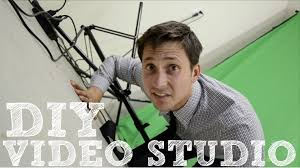 diy video studio set up your home film studio youtube
