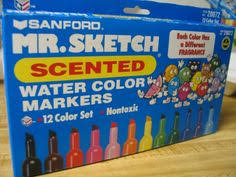 great markers that smelled so good i wanted to eat them