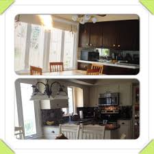 kitchen diy removed center cabinets sherwin williams antique