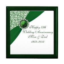 55th wedding anniversary 47 best 55th anniversary gift ideas images on gift