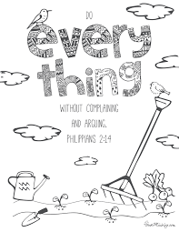 11 bible verses to teach kids with printables to color house mix