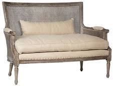Large Armchair Loveseat French Country Sofas Loveseats U0026 Chaises Ebay
