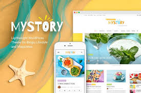 themes for my story mystory blog magazine theme wordpress template and corporate
